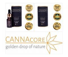 Olejek Konopny GOld Hemp Oil CANNAcore 5% CBG Full Spectrum
